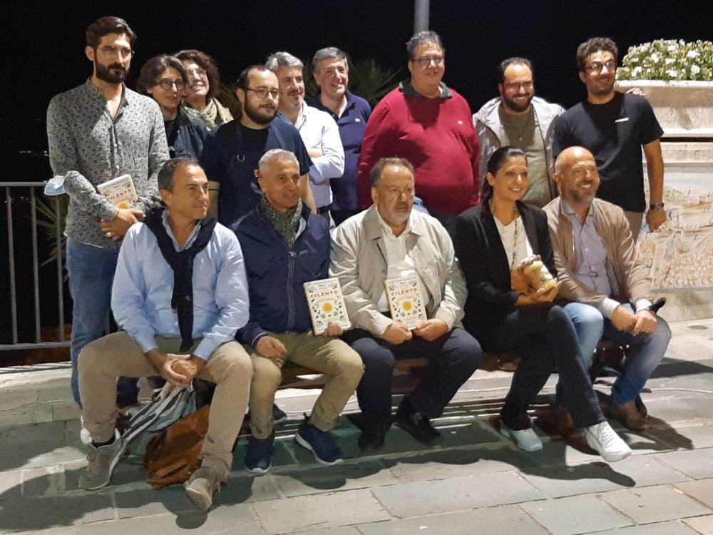 Vatolla Luciano Pignataro, Barbara Guerra ed i produttori cilentani