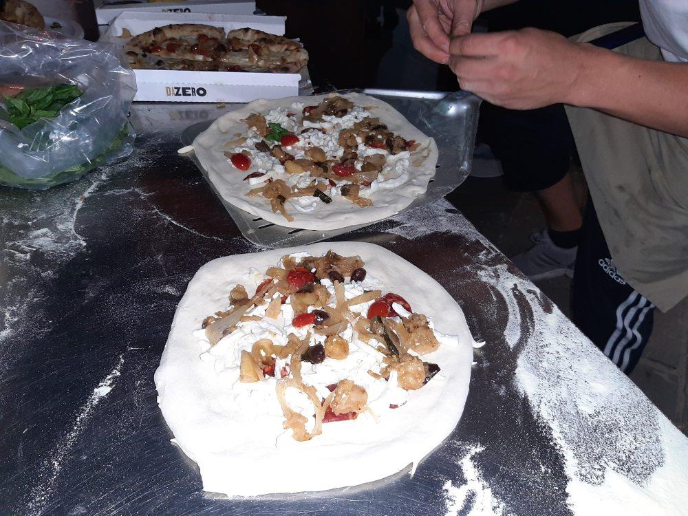 Vatolla Pizze Da Zero in preparazione