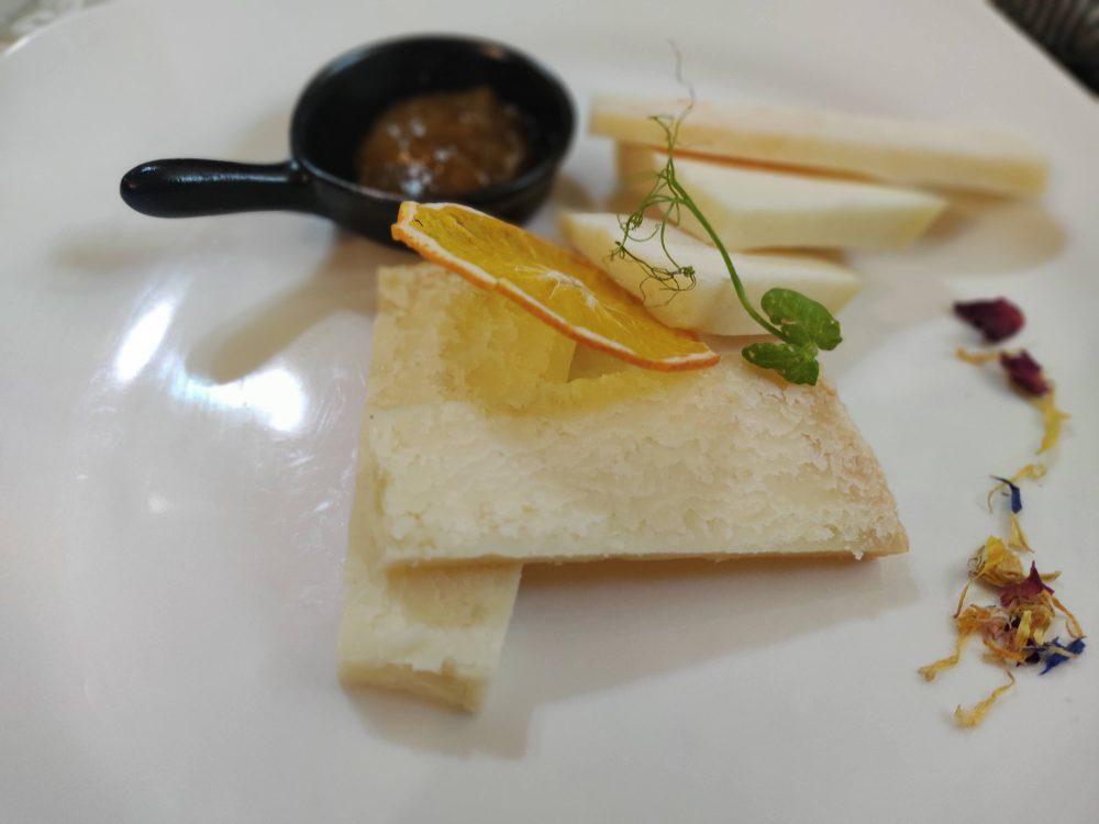 Palazzo Gala, plateau formaggi pecorini e podolico