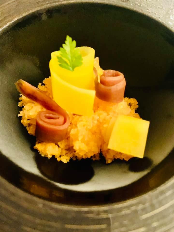 Palagio - Pre dessert - carote ghiacciate al sale