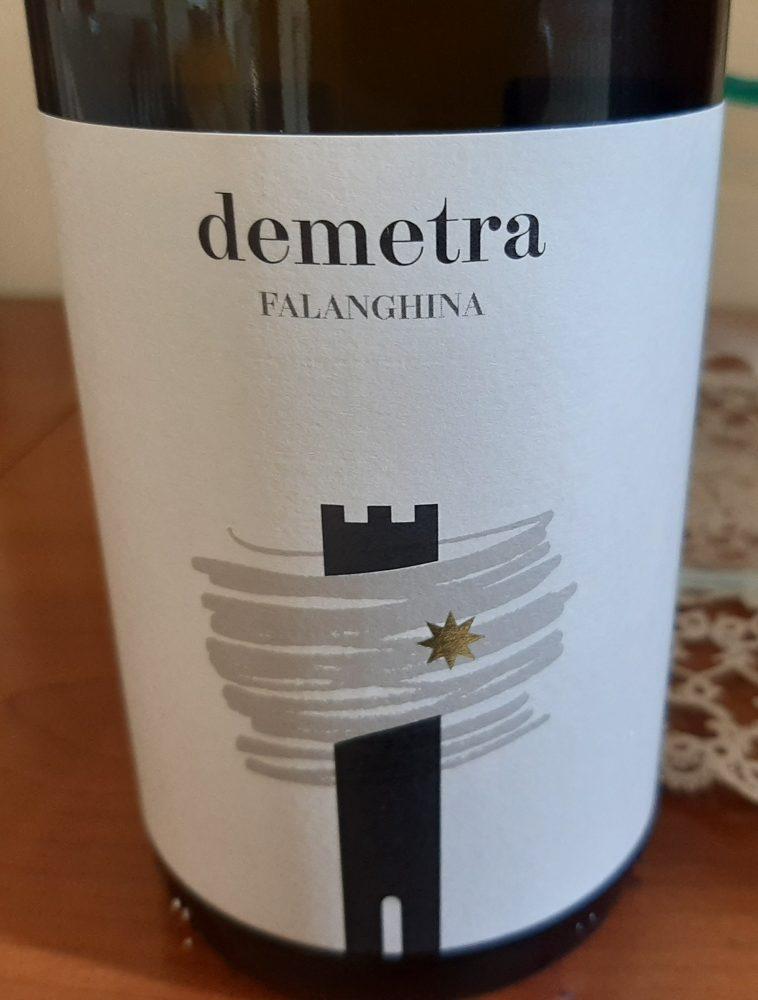 Demetra Falanghina Irpinia D op 2020 Antico Castello