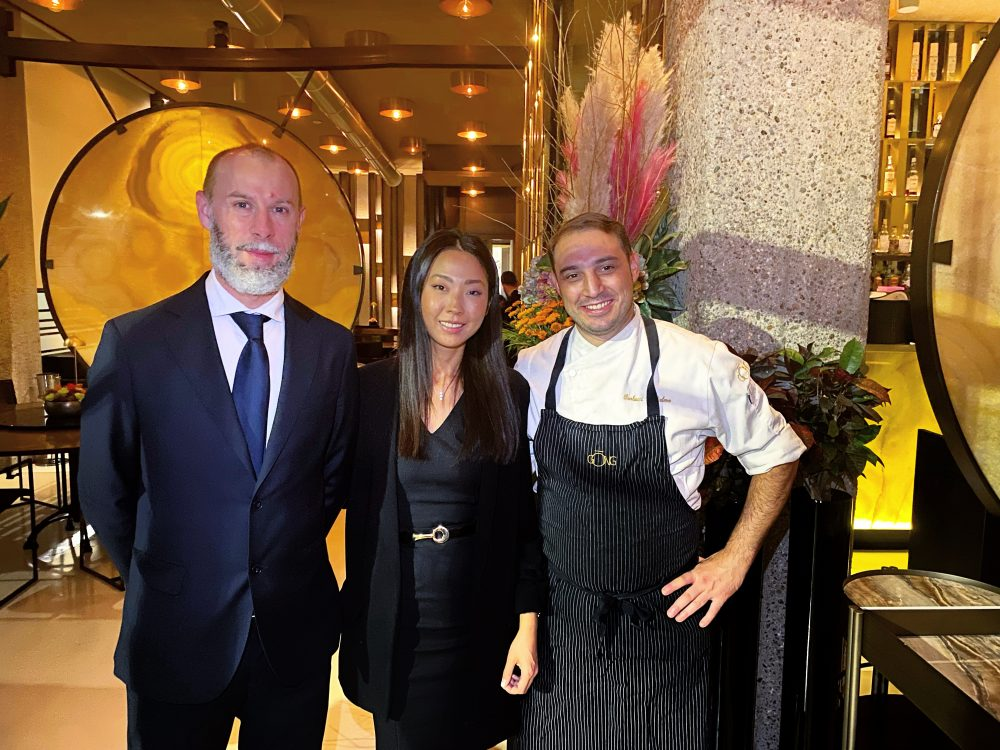 Gong, Giulia Liu, Guglielmo Paolucci e Massimo Francescato
