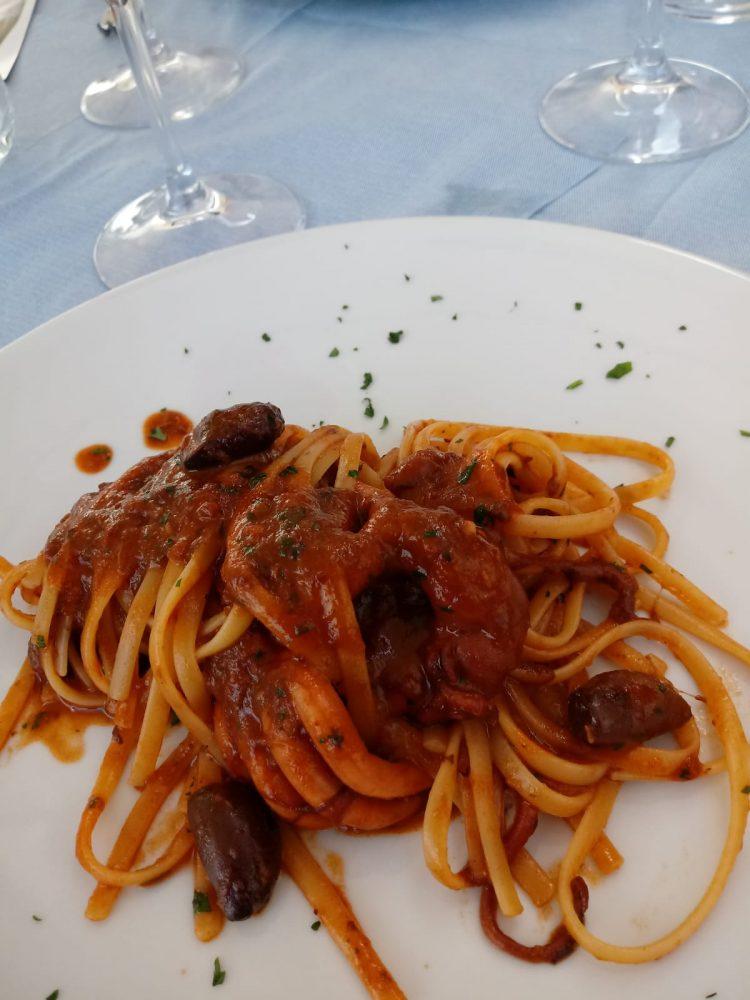 Ristorante Maria Luisa - Linguine con moscardini alla Luciana