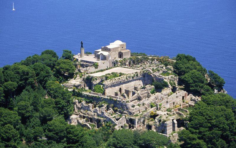 Monte Tiberio a Capri
