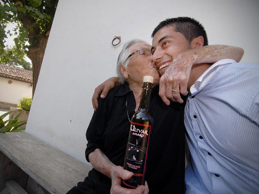 Nonna e Luigi Adinolfi