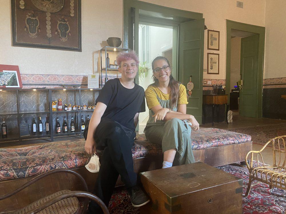 Palazzo Rainone - Filo Cafe', Luciana e Gauri