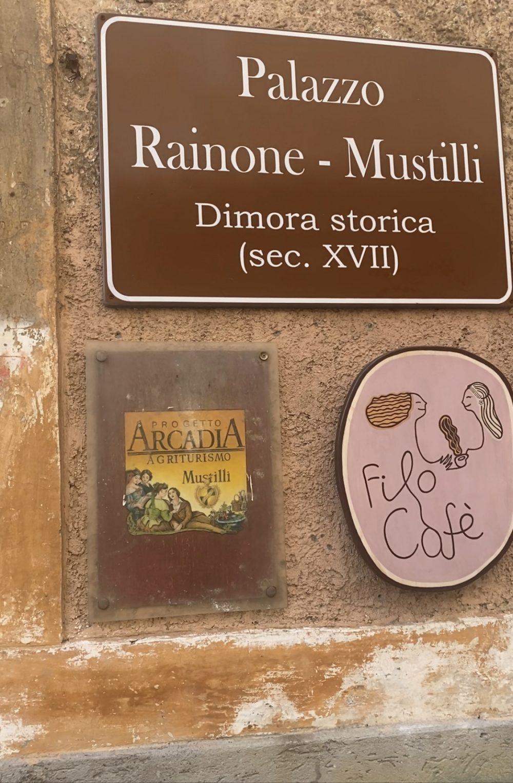 Palazzo Rainone - Filo Cafe'