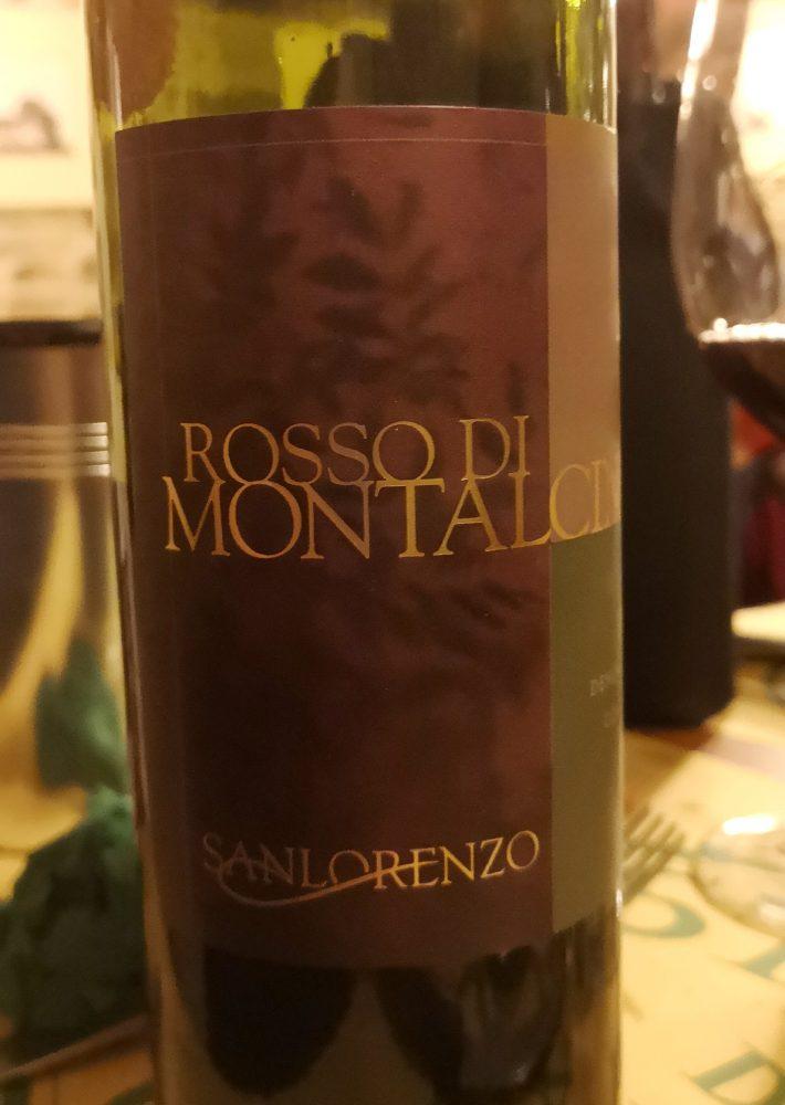 Rosso di Montalcino 2003 San Lorenzo