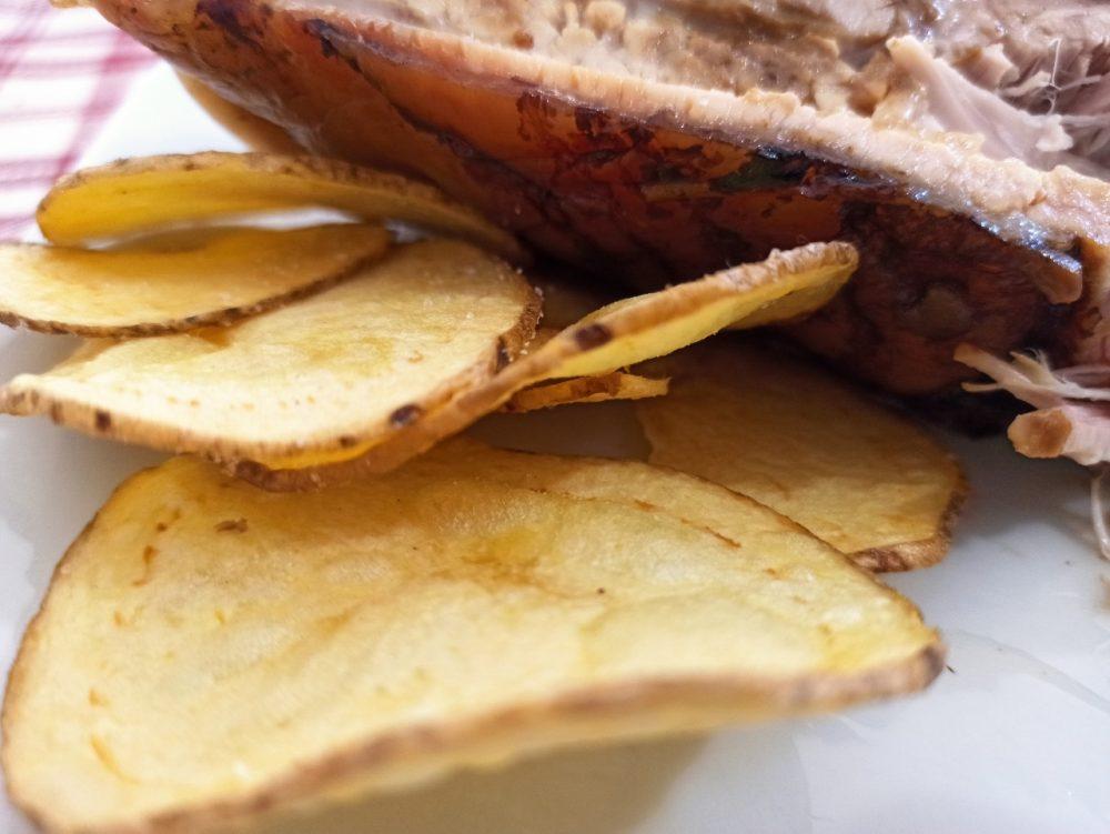 Scuderie del Peschio - Le chips con la buccia